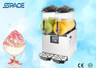 700W Restaurant Frozen Drink Slush Machine 2 Bowl With Italy Compressor