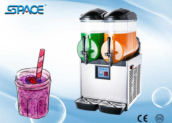 Double Bowl Cold Drinks Margarita Dispenser Machine Customized Logo Available